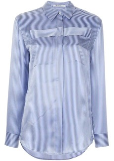 T by Alexander Wang striped long sleeved shirt
