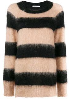 T by Alexander Wang striped oversized jumper