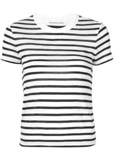 T by Alexander Wang striped print T-shirt