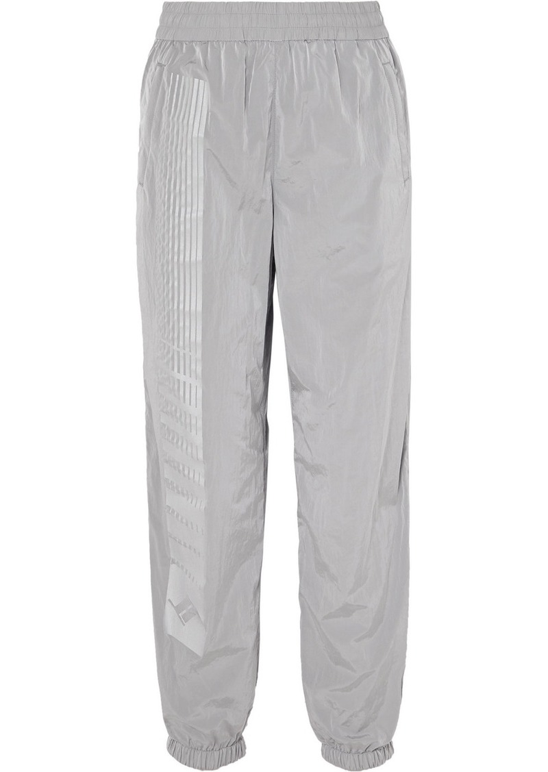 T by Alexander Wang Striped Shell Track Pants