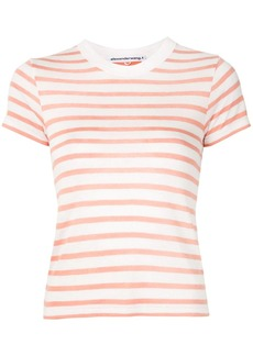 T by Alexander Wang striped slub boy T-shirt