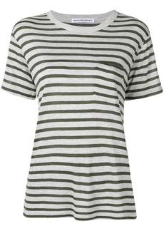 T by Alexander Wang striped slub pocket t-shirt