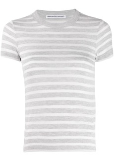 T by Alexander Wang striped T-shirt