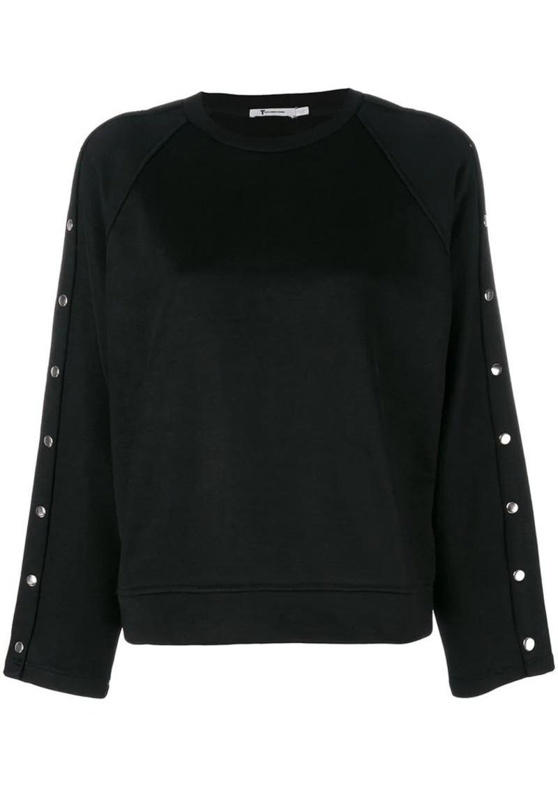 T by Alexander Wang studded sweatshirt