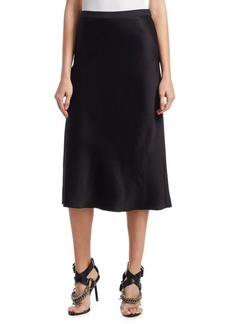 T by Alexander Wang A-Line Midi Skirt