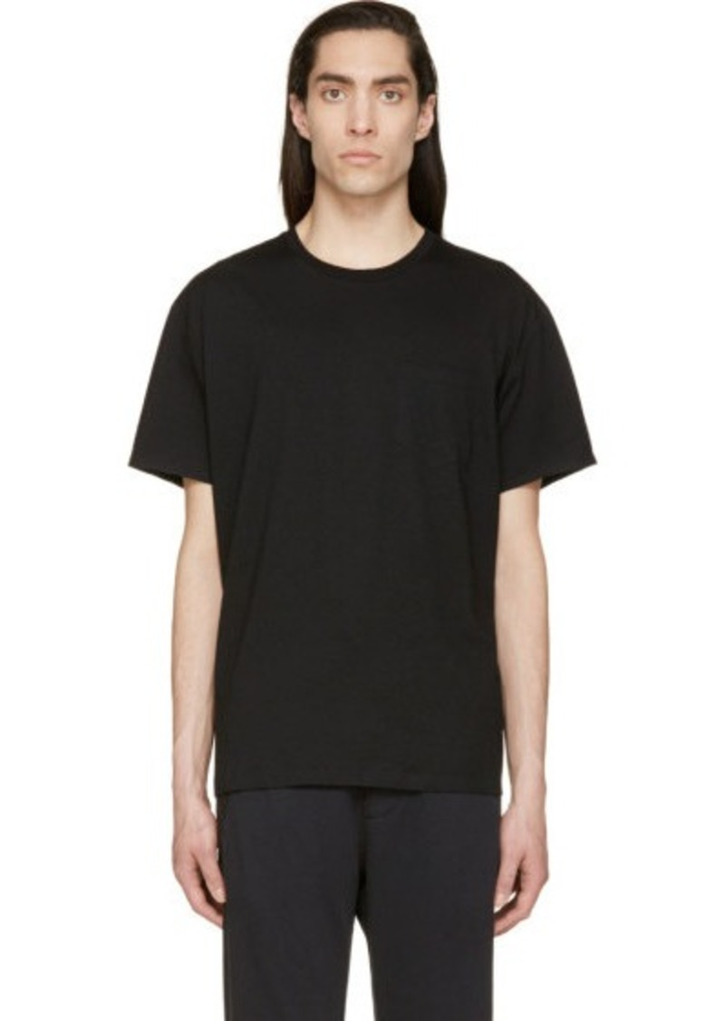 t by alexander wang t by alexander wang black welded pocket t shirt t shirts shop it to me. Black Bedroom Furniture Sets. Home Design Ideas