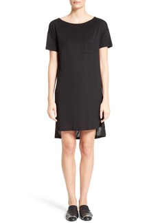 T by Alexander Wang Boatneck T-Shirt Dress