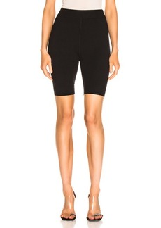 T by Alexander Wang Bodycon Basic Biker Short