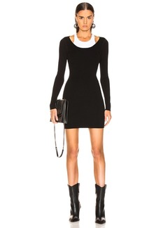 T by Alexander Wang Bodycon Basic Mini Dress