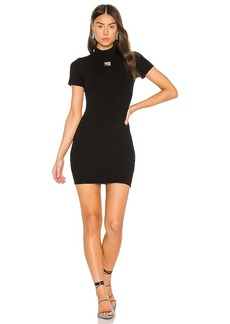 T by Alexander Wang Bodycon Crewneck Tee Dress