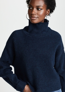 T by Alexander Wang Chunky Cropped Wool Sweater