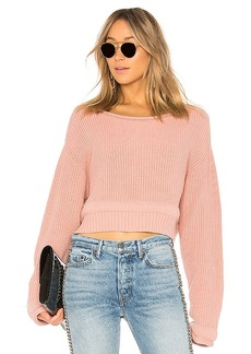 T by Alexander Wang Chunky Trim Pullover