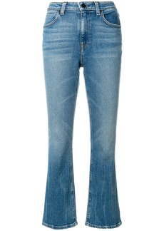 T by Alexander Wang classic cropped denim jeans