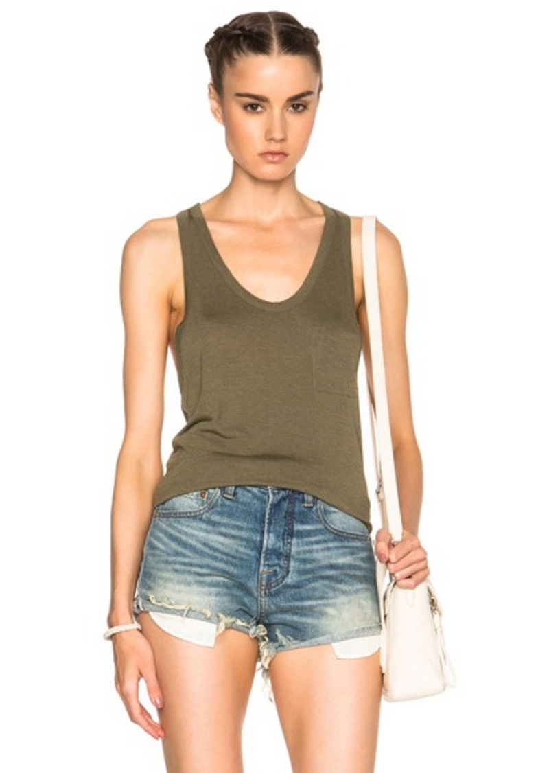 T by Alexander Wang Classic Pocket Tank Top