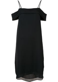 T By Alexander Wang cold shoulder dress - Black