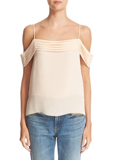 T by Alexander Wang Cold Shoulder Top