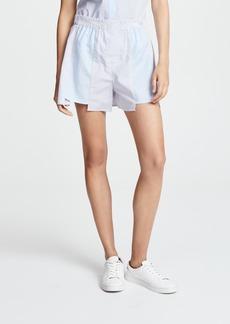 T by Alexander Wang Combo Striped Shirting Boxer Shorts