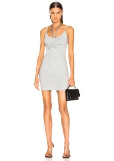 T by Alexander Wang Compact Ruched Dress