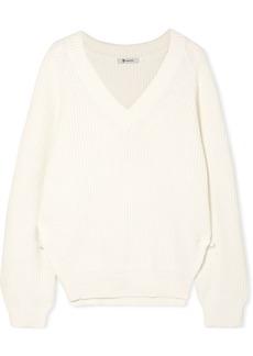 T by Alexander Wang Cotton-blend sweater