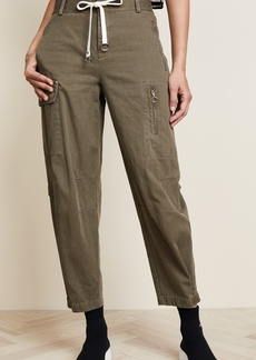 T by Alexander Wang Cotton Twill Cargo Pants
