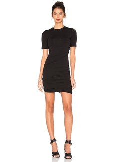 T by Alexander Wang Crepe Jersey Dress