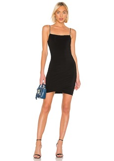 T by Alexander Wang Crepe Jersey Twisted Cami Dress