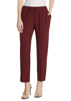 T by Alexander Wang Crepe Track Pants