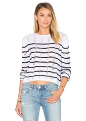T by Alexander Wang Cropped Long Sleeve Top