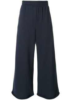 T By Alexander Wang cropped tailored trousers - Blue