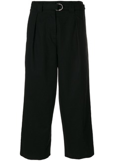 T By Alexander Wang cropped trousers - Black