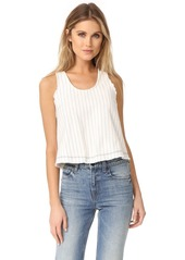 T by Alexander Wang Cropped Woven Tank