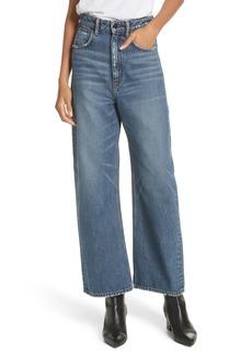T by Alexander Wang Crush Wide Leg Jeans (Medium Vintage)