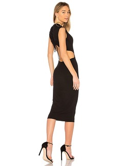 T by Alexander Wang Cut-Out Dress in Black. - size L (also in M,S,XS)