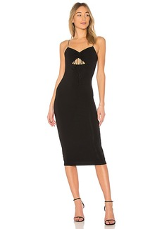 T by Alexander Wang Cut-Out Jersey Dress in Black. - size L (also in M,S,XS)