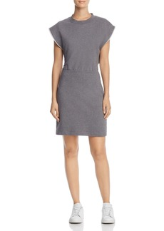 T by Alexander Wang Cutout-Back French Terry Dress