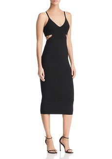 T by Alexander Wang Cutout Jersey Dress