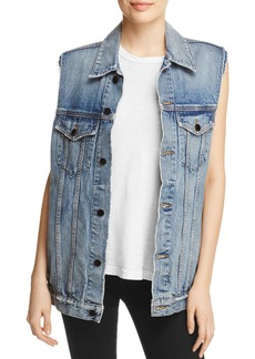 T by Alexander Wang Daze Denim Vest