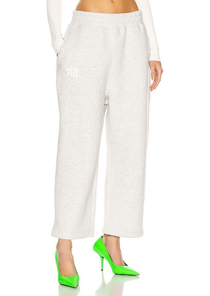 T by Alexander Wang Dense Fleece Oversized Pant
