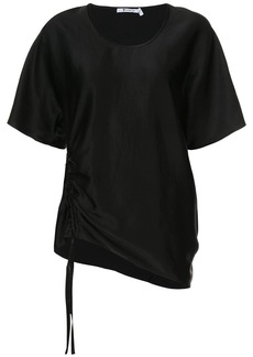 T by Alexander Wang draped short sleeved top
