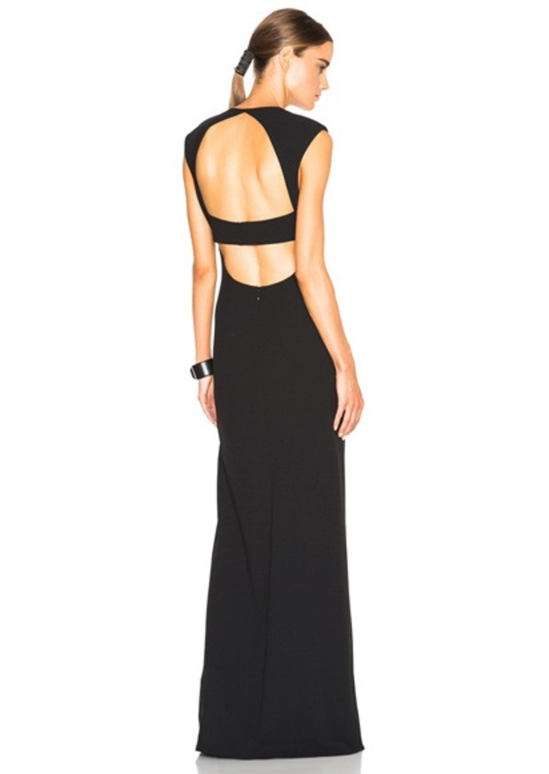 T by Alexander Wang Exposed Back Maxi Dress
