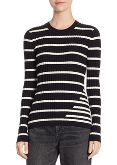 T by Alexander Wang Fitted Stripe Sweater