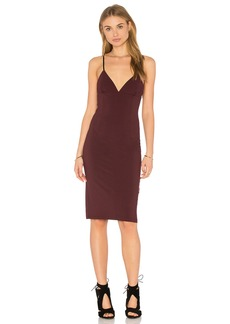 T by Alexander Wang Fitted Spaghetti Strap Dress