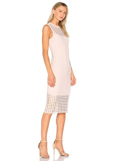 T by Alexander Wang Fitted Tank Dress in Blush. - size S (also in XS,M)