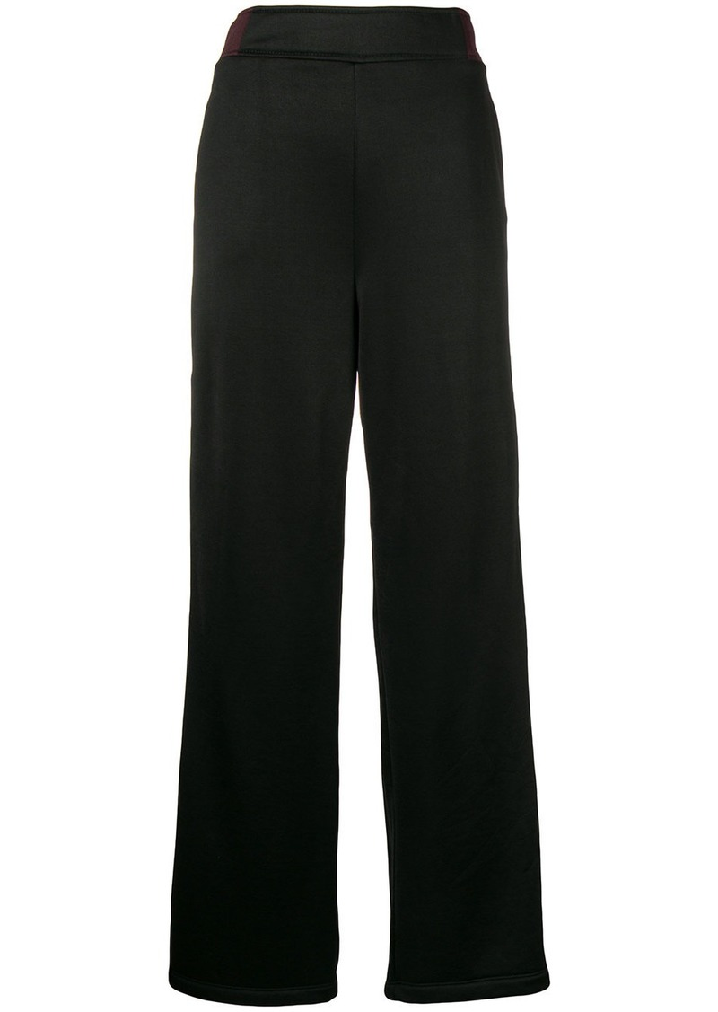 T by Alexander Wang flared track pants