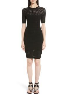 T by Alexander Wang Float Stitch Lace Dress