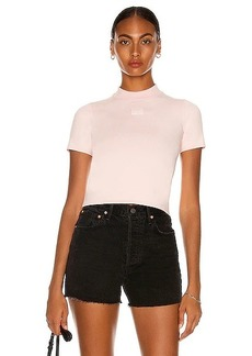 T by Alexander Wang Foundation Mock Neck Tee