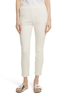 T by Alexander Wang French Terry Pintuck Pleat Pants