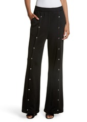 T by Alexander Wang French Terry Wide Leg Pants