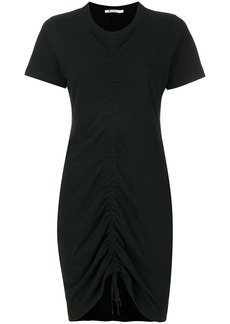 T By Alexander Wang gathered front dress - Black