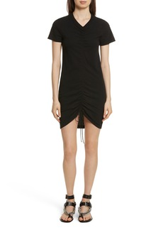 T by Alexander Wang Gathered T-Shirt Dress